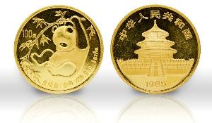 China Panda Goldmünzen kaufen